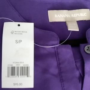 Banana Republic 💯% Silk Tunic
